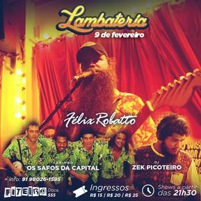Lambateria comemora 35 edições