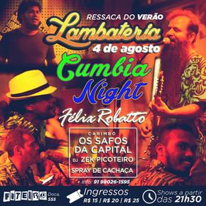 Lambateria#8 promove Cumbia Night