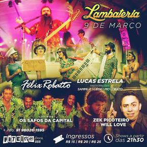 Lambateria#39 apresenta a tecnoguitarrada de Lucas Estrela