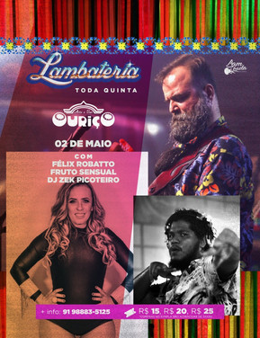Fruto Sensual faz sua estreia na nova temporada da Lambateria