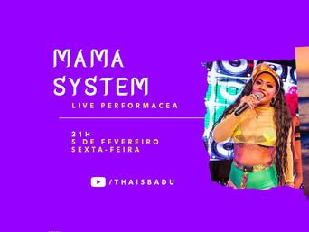 Thais Badu realiza live performance nesta sexta, 05