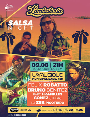 Lambateria#112 promove Salsa Night