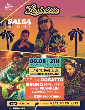 Lambateria#112 promove Salsa Night