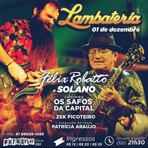 Lambateria#25 recebe Mestre Solano
