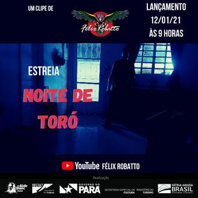 """Félix Robatto lança clipe da inédita """"Noite de Toró"""""""
