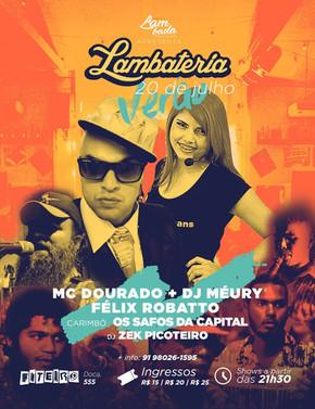 TecnoFunk de DJ Méury e MC Dourado invade a Lambateria#58