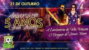 Neste sábado (21), tem Félix Robatto em Tucuruí