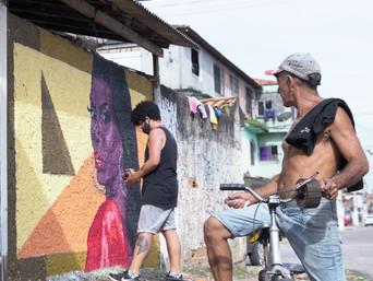 Youtuber Leona recebe homenagem no bairro do Jurunas, em Belém