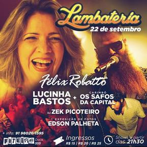 Lambateria#15 com Lucinnha Bastos