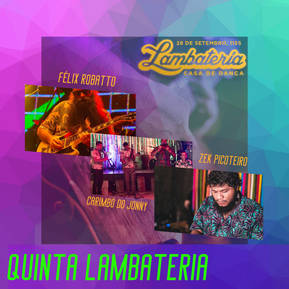 Guitarrada, Lambada, Carimbó e Brega na Lambateria 156