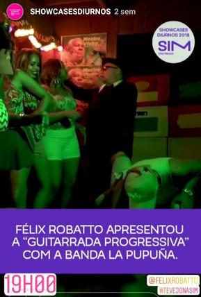 Félix Robatto se apresenta na SIM SP