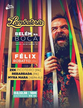 Lambateria terá primeira edição em solo carioca