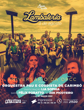 Orquestra Pau e Cordista de Carimbó comemora primeiro aniversário com participação de Lia Sophia na