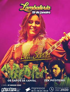 Lambateria especial com Lia Sophia