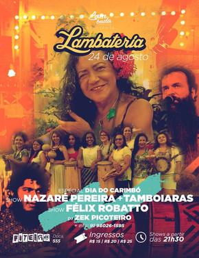 Nazaré Pereira apresenta EP com inédita na Lambateria#63