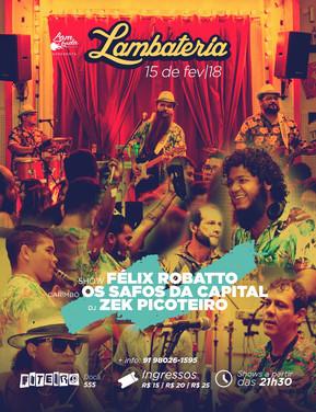 Lambateria cura ressaca do Carnaval com música dançante do Pará