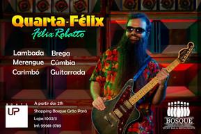 Em maio, Félix Robatto será atração em quartas da Boate Up no shopping Bosque