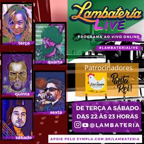 Lambateria estreia no universo das lives