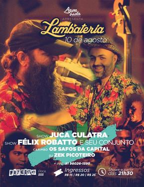 Juca Culatra faz sua estreia na Lambateria#61