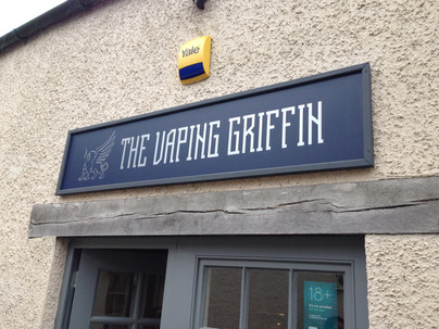 THE VAPING GRIFFIN