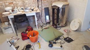 Another kiln breakdown!