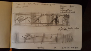 Meeting with Desmond Brett this week and sketchbook notes....