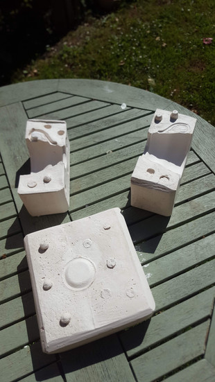 Working with Nicky Deeley, Artist and mould maker