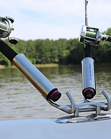 Boat cleat fishing holder no driling boat cleat rod holders.