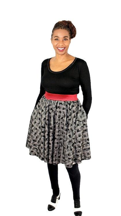 Soft Jersey Circle Skirt