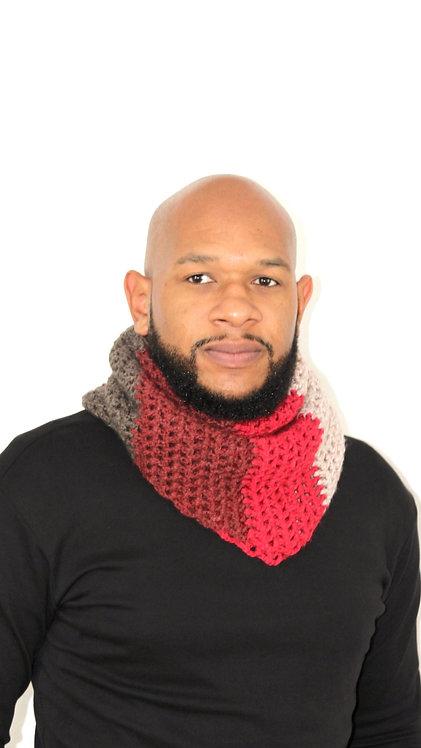 Glo Crocheted Kerchief Scarf