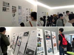 東京大学、プリンストン大学、ワシントン大学、京都造形大学の合同レビューを開催しています。