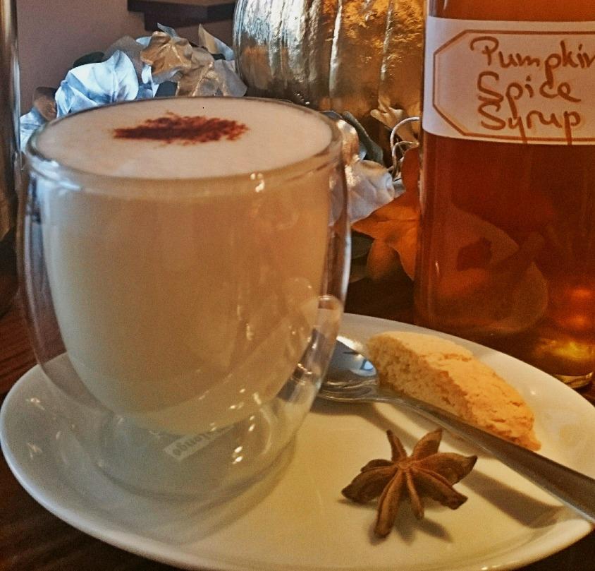 Kürbis Chai Latte