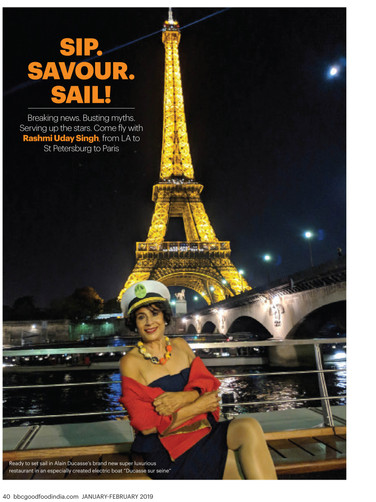 Ducasse Sur Seine in BBC GOOD FOOD pg.1.