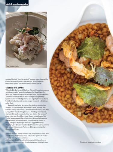 Ducasse Sur Seine in BBC GOOD FOOD pg.3.