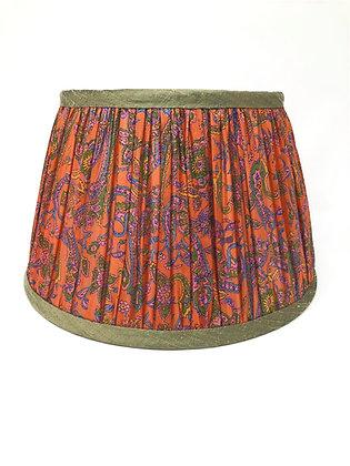 """12"""" Autumn spice silk sari shade"""