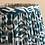 "Thumbnail: 12"" Green/blue block print shade"