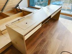 Стол в кабинет из фанеры