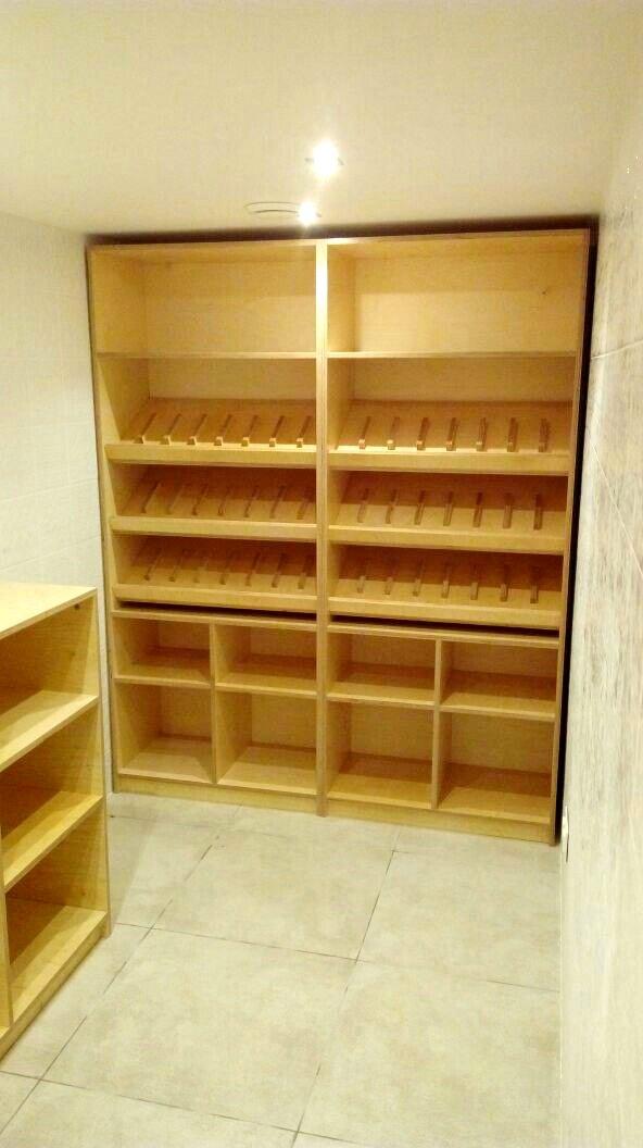 винный шкаф погреб бар из фанеры