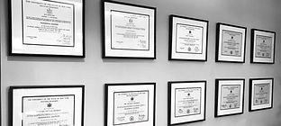 License Wall BW.jpg