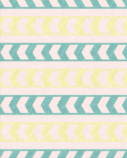 Zag Stripe (Mint)