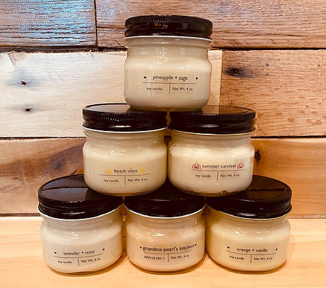 4oz Soy Candles