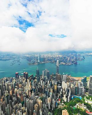 Hong Kong Aerial Photo taken in Hong Kong Island