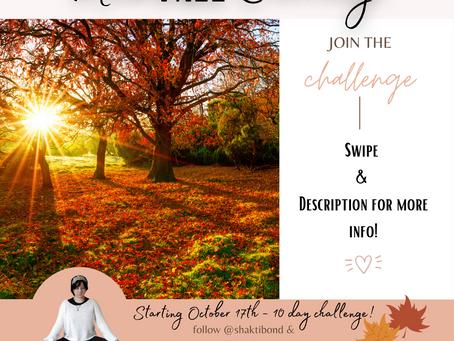MindFALL Challenge (#mindfulshakti)