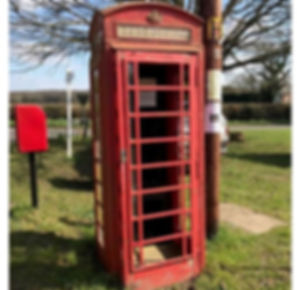 Telephone box volunteer poster March 201