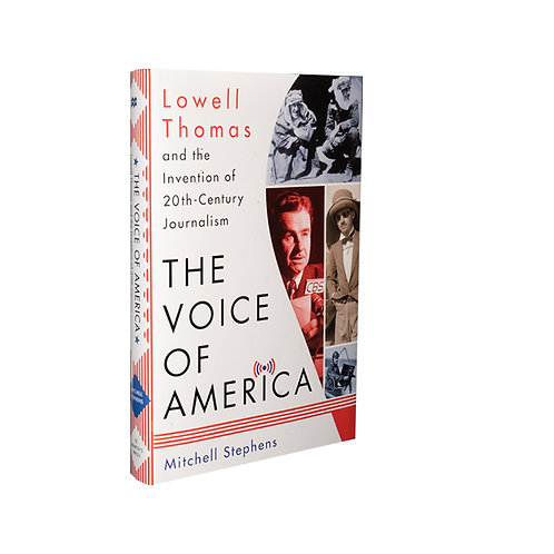 Lowell Thomas the Voice of America BOOK
