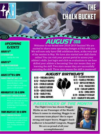 August 2 2018 Newsletter
