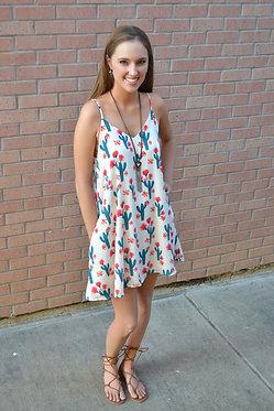 Desert Flower Swing Dress