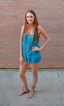 Layers of Lace Romper