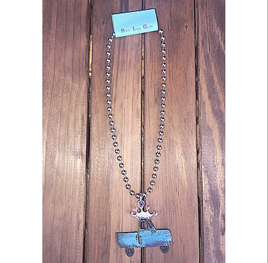 Rustic Country Roads Necklace