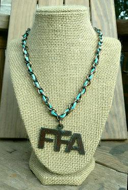 Goin' Showin' Rustic FFA Necklace